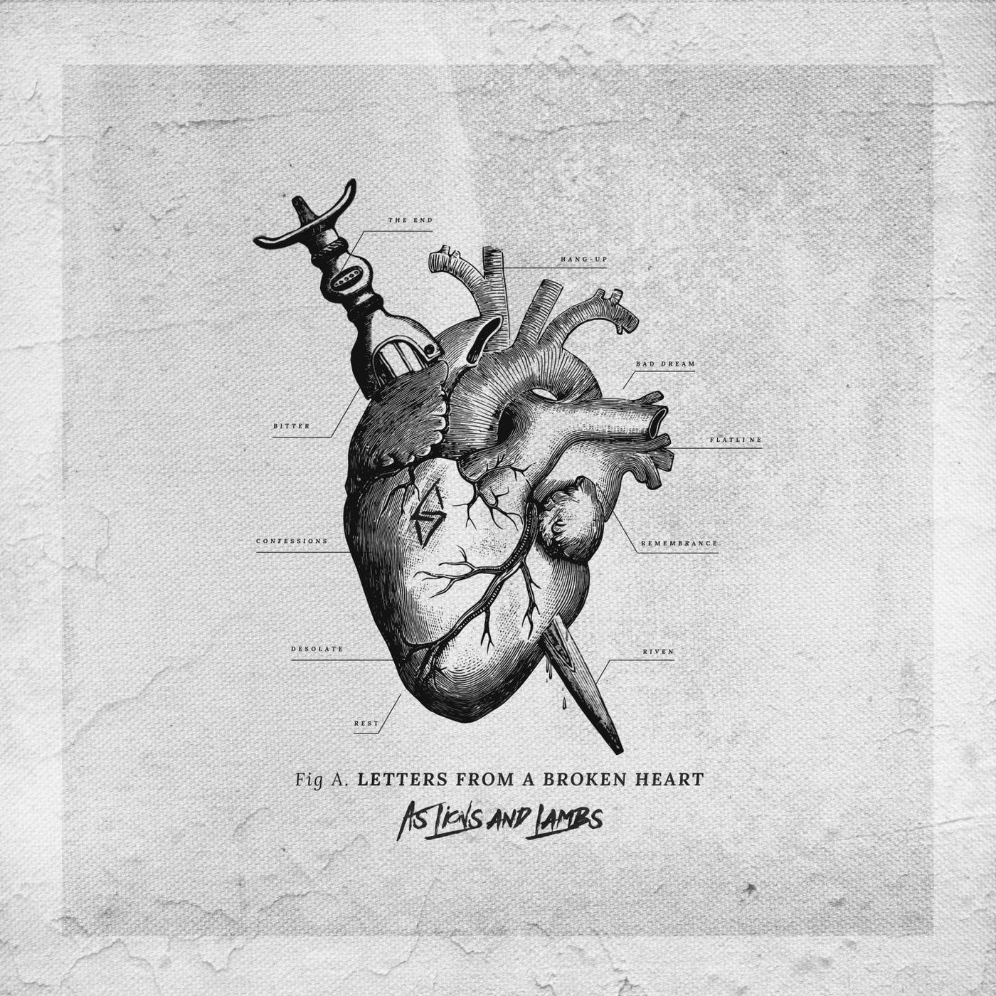As Lions and Lambs - Letters from a Broken Heart (2019)