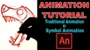 Traditional And Symbol Animation In Animate CC - By Abo Karo creator and Teen Titans Go! Animator