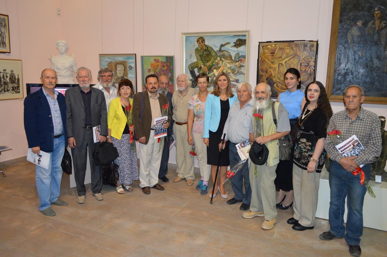 Подведение итогов деятельности художественного музея «Арт-Донбасс» за 2018 год