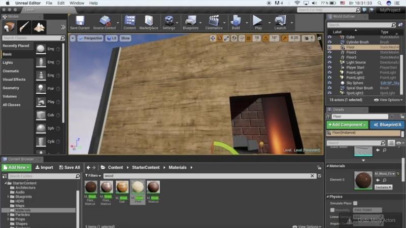 [Гоша Дударь] Уроки по Unreal Engine 4 5 - Работа с текстурами