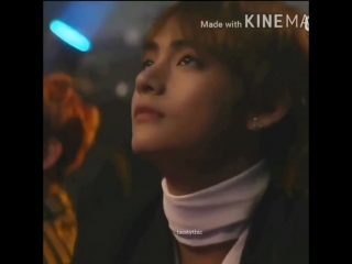 ive never seen a man more beautiful than taehyung in my entire life look at his big skiny .mp4