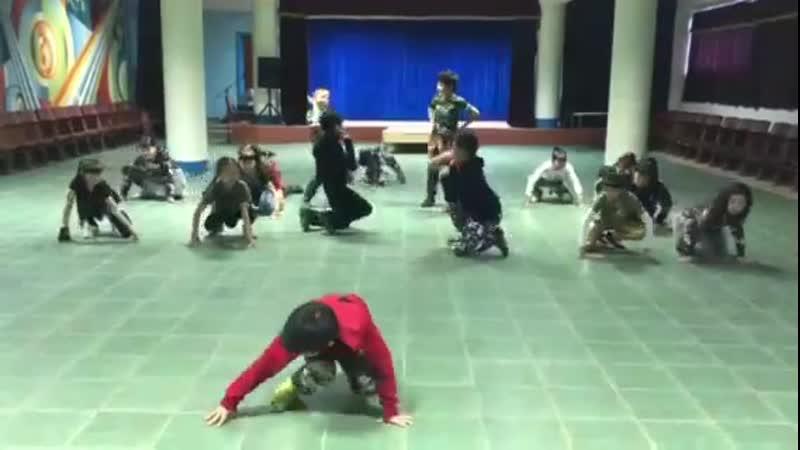 репетиции танцгруппы СКАЗКА