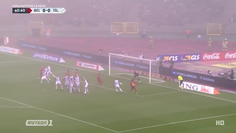 Бельгия 2·0 Исландия · Лига Наций 2018·19 · Лига A · 5·й тур · Видео обзор голов матча ·
