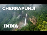 SPECTACULAR WATERFALLS &amp LIVING ROOT BRIDGES IN CHERRAPUNJI, MEGHALAYA, INDIA