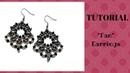 Tutorial perline orecchini Fan Beading Tutorial Fan earrings