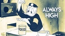 Boris Brejcha Art of Minimal Techno Favourites Classic High Cartoons by RTTWLR