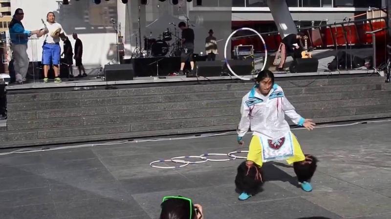 Танцор с обручем 80 левела