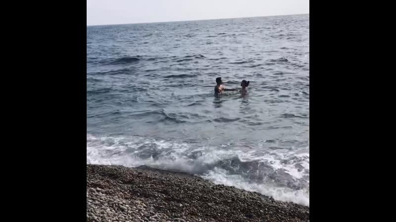 Морские купания 10 03 19