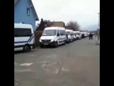 GILET JAUNE ACTE 9 Insolite En Alsace, dans la petite ville de Masevaux 3300 habitants