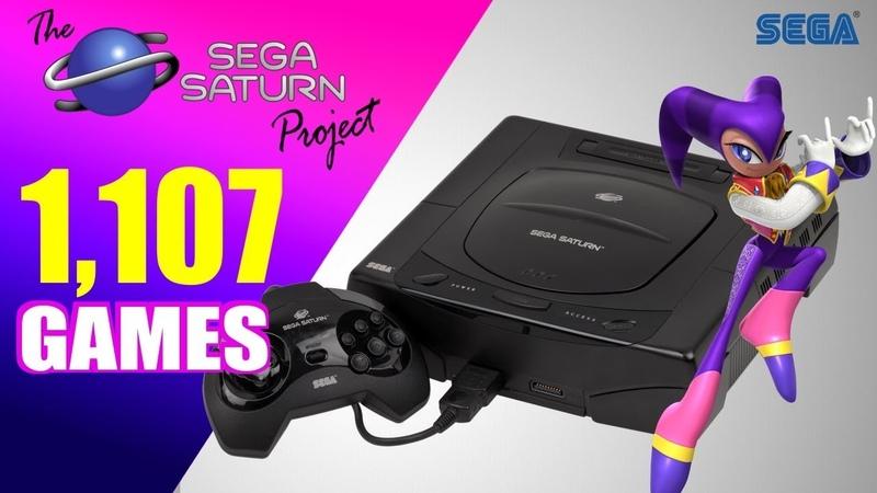 The SEGA Saturn Project - All 1107 Saturn Games - Every Game (US/EU/JP)