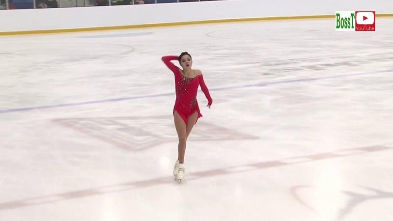 Evgenia MEDVEDEVA - FP, Autumn Classic Int 2018