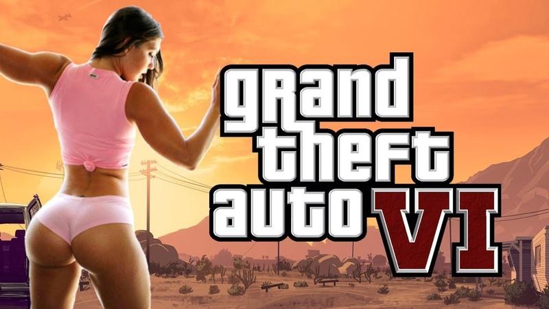GTA 6 Первое Официальное ВИДЕО от Max TV   Обзор Игры