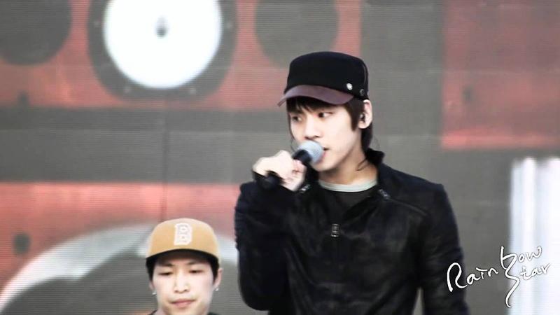 111028 Jjong rehearsal