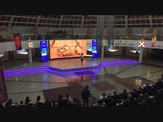 Открытие всероссийской акции Ночь искусств в музее оружия!