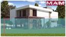 Проект дома 250 кв. м. двухэтажного, из газобетона. Планировки, цена.
