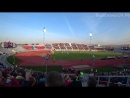 Атмосфера на Центральном стадионе в Красноярске во время матча Енисей - Урал (22.09.2018)