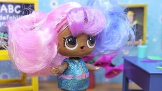 #ХЭЛЛОУИН и ДВОЙКА В ШКОЛЕ Играем в Куклы ЛОЛ Мультики LOL Surprise