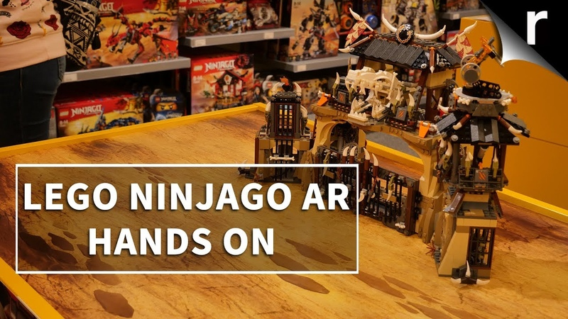 LEGO Ninjago AR | Hands-on with the first ARKit 2 game