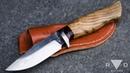 Making a small Hidden Tang Hunting Knife