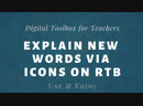 RTB_use icons to explain words