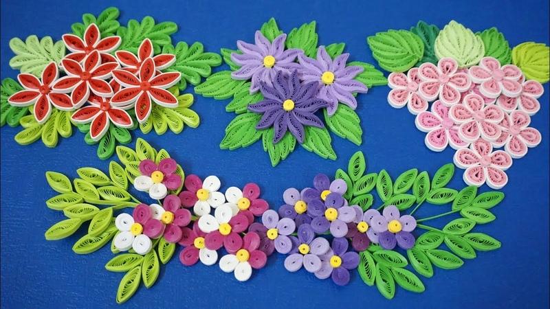 Quilling Basic Flower Tutorial For Beginner DIY Paper Flower Home Decoration