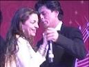 Shahrukh Khan Juhi Chawla's candid moment