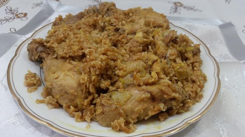 Плов из полбы с курицей ачар - Ани Кухня!