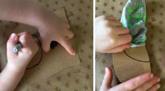 Осьминог из носка Такие поделки осьминогов из детских носочков и шнурком можно сделать в подарок с детьми школьного возраста.Нам понадобятся детские носочки, шнурки, мягкий наполнитель, кусок