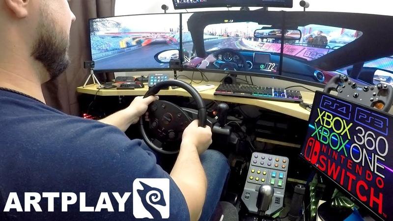 Самый универсальный бюджетный руль в мире Обзор Artplays Street Racing Wheel Turbo C900