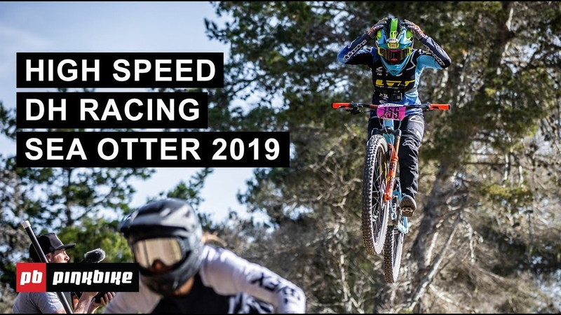 High Speed DH Racing at Sea Otter 2019