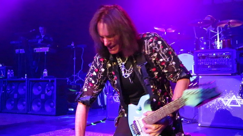 Steve Vai Generation Axe Tulsa 2018 Burn 5 man jam