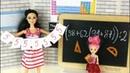 ОБМАНЩИЦЫ Мультик Барби Про Школу Куклы Игрушки Для девочек IkuklaTV Школа