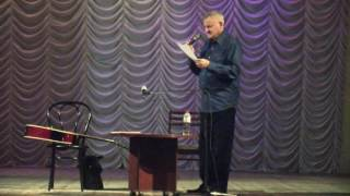 Отрывок из выступления А. Саврасова в Перми 29.10.2016