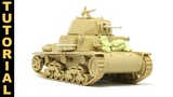 Part 1 Building and Upgrading Tamiya's M1340 'Carro Armato' - Scale Modeling Tutorial