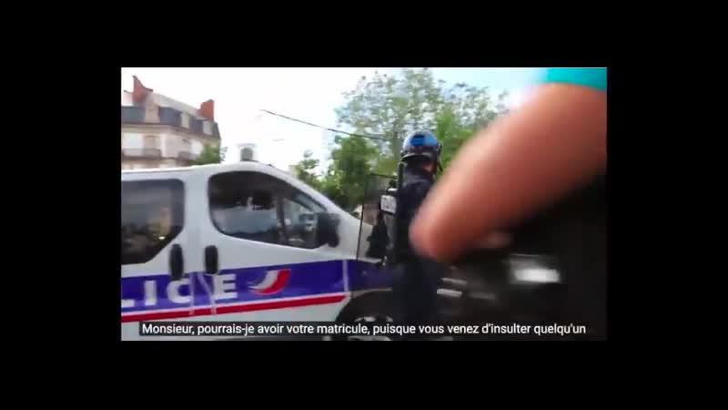 Allo @Place Beauvau cest pour un signalement 836 Insultes proférées par BAC puis CRS mange merde mère célibataire cass