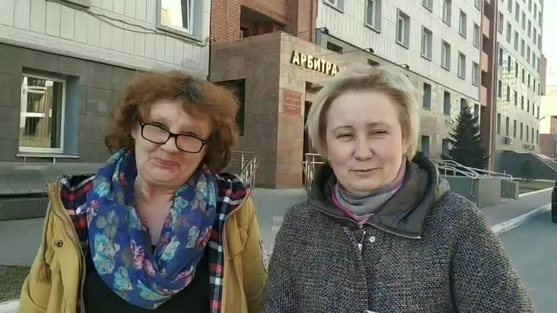 Интервью после Арбитражного суда по Магазину Красавца