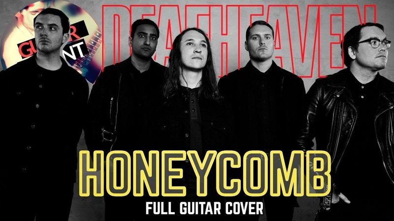 DEAFHEAVEN - Honeycomb | FULL GUITAR COVER (Rhythm Lead Guitar)