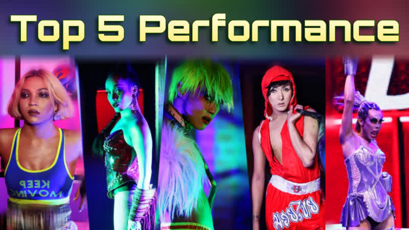 S2 E11 - Top 5 Performance   Drag Race Thailand