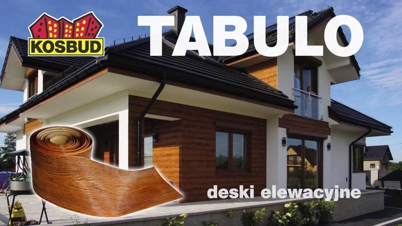Deska elewacyjna TABULO Kosbud krótka prezentacja