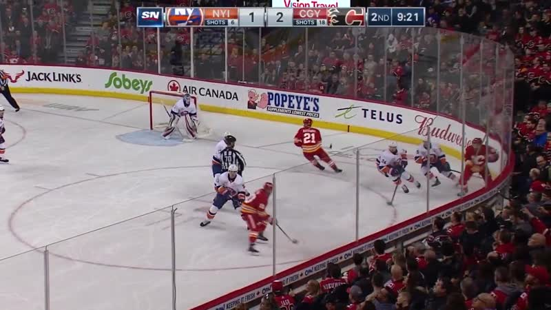 New York Islanders vs Calgary Flames   Feb.20, 2019   Game Highlights   NHL 201819   Обзор матча