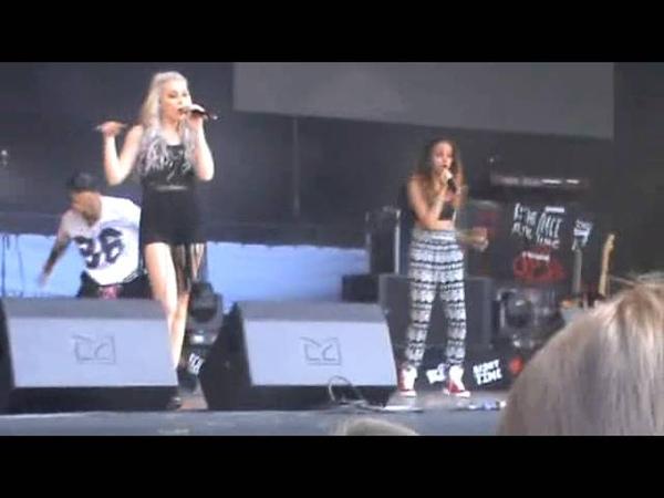 Little Mix at Alton Towers Live 06072013