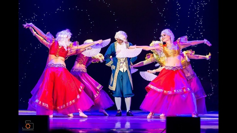 Mozart in Egypt Amrita dance group Moscow Comedy Bellydance