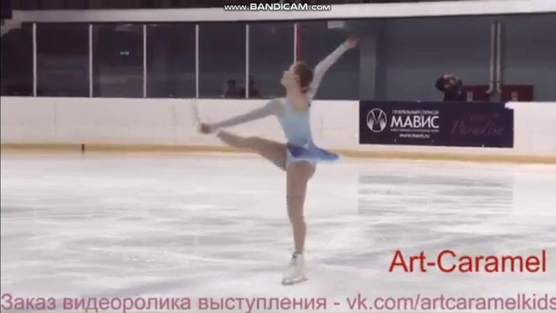 Серафима Саханович КП 1 этап Кубка Санкт-Петербурга 2018