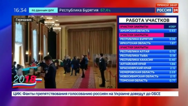 Новости на Россия 24 • Перед посольством России в Берлине выстроилась стометровая очередь из голосующих
