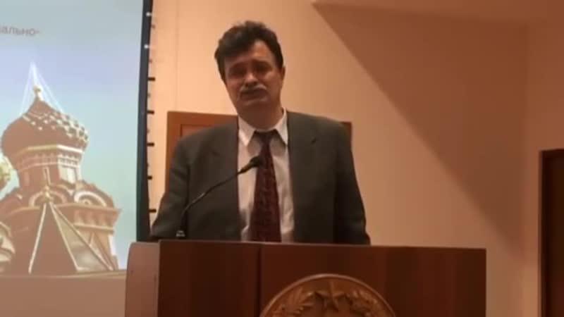 Ю.Болдырев. Мы должны искоренить паразитизм в обществе