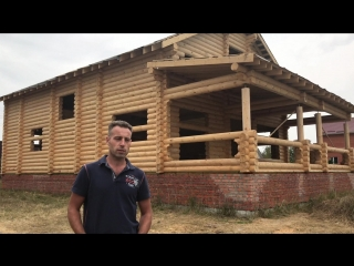 Отзыв Евгений Бушуев, дом из ОЦБ 220мм по проекту Э-74