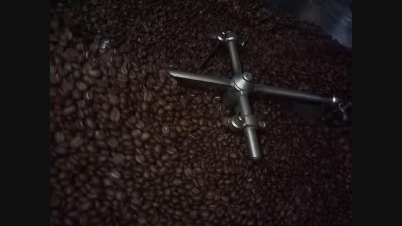 Обжарка кофе в ростере