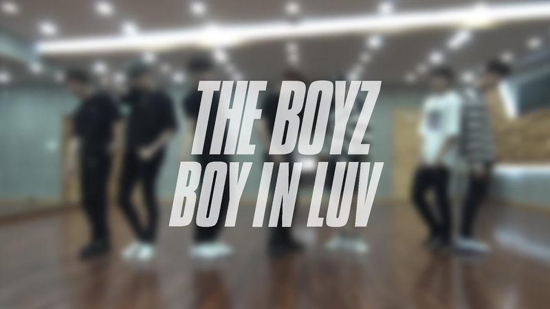 THE BOYZ - Boy In Luv (DANCE PRACTICE VIDEO)