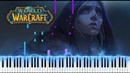 Warbringers Jaina Daughter Of The Sea Warcraft Piano Synthesia Tutorial