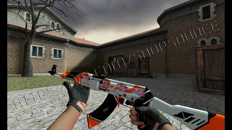 StatTrack AK47 Aziimov (Specialist Gloves Foundation) серверные модели оружия